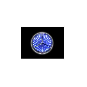 3D Emblem MERSEDES-BENZ 8.7 cm